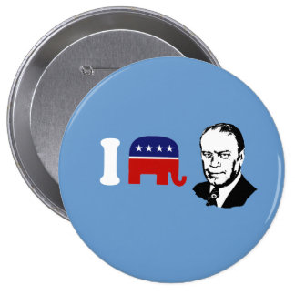 I Love Gerald Ford Pin