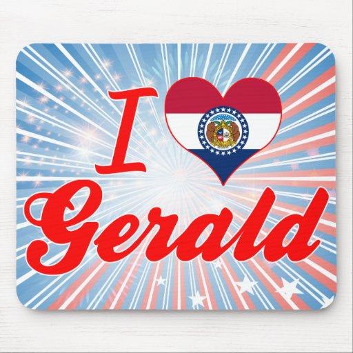 I Love Gerald, Missouri Mousepad