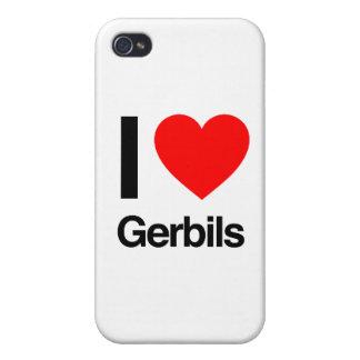i love gerbils iPhone 4 cases