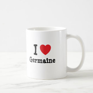 I love Germaine heart T-Shirt Coffee Mugs