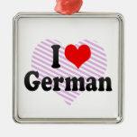 I love German Christmas Tree Ornament