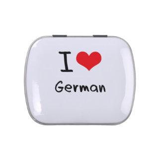 I Love German Jelly Belly Tin