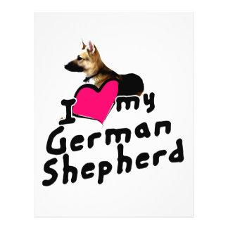 I love German Shepherds! Full Color Flyer