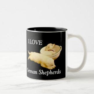 I LOVE German Shepherds Coffee Mug