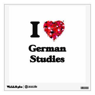 I Love German Studies Room Graphics