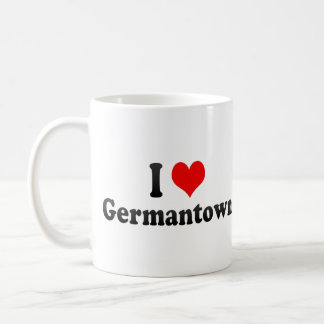 I Love Germantown United States Coffee Mug