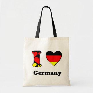 I love Germany Budget Tote Bag