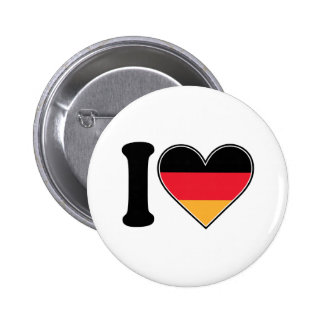 I Love Germany Button