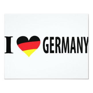 I love germany card