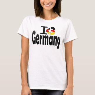 I Love Germany Flag T-shirt