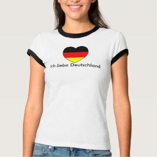 """""""I love Germany"""" football Germany T-Shirt"""