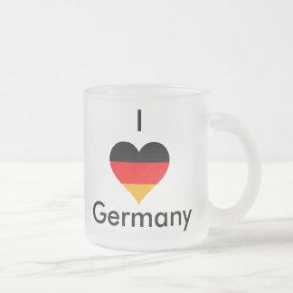 I love Germany glass mug! Frosted Glass Coffee Mug