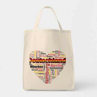 I love Germany Grocery Tote