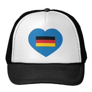 I Love Germany Hats