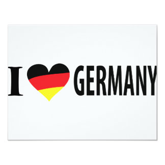 I love germany icon card