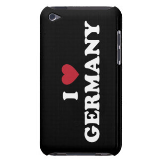 I Love Germany iPod Touch Cases