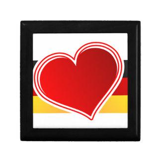 I Love Germany Jewelry Box