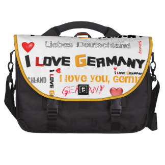 I love Germany Lap Top Bag Commuter Bags