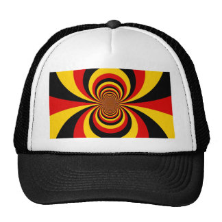 I love Germany Lovely Colorful Hat Template