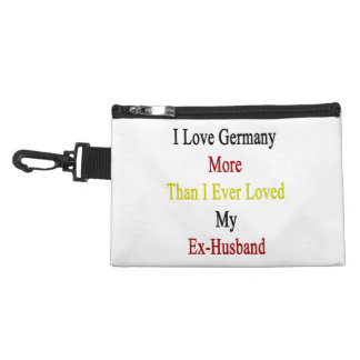 I Love Germany More Than I Ever Loved My Ex Husban Accessory Bags