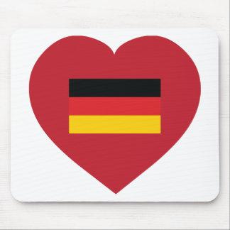 I Love Germany Mouse Pad