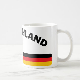 I Love Germany Coffee Mugs