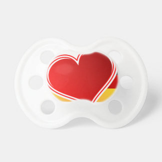 I Love Germany Pacifier