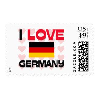 I Love Germany Postage