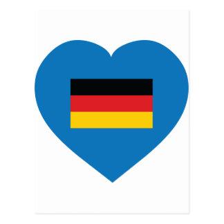 I Love Germany Postcard