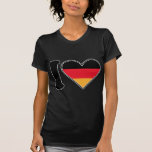 I Love Germany T Shirt