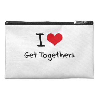 I Love Get Togethers Travel Accessories Bag