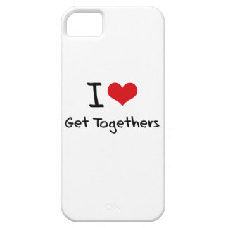 I Love Get Togethers iPhone 5 Cover