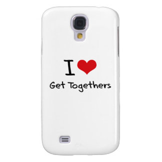 I Love Get Togethers HTC Vivid Case