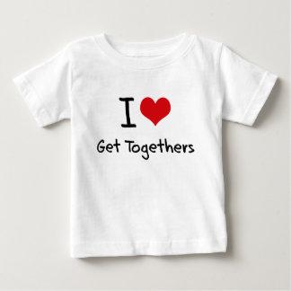 I Love Get Togethers Tee Shirt