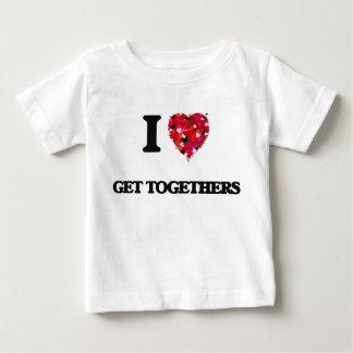 I Love Get Togethers Tee Shirts