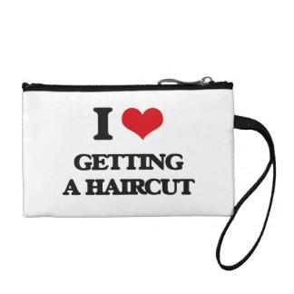 I love Getting A Haircut Coin Purse