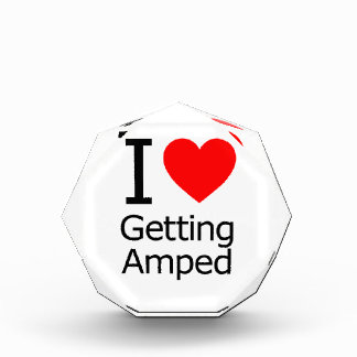 I Love Getting Amped Award