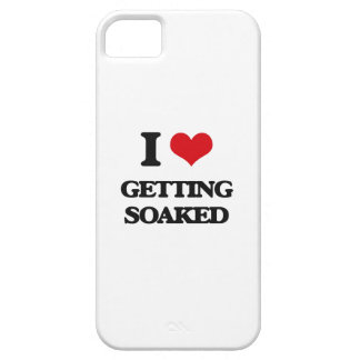 I love Getting Soaked iPhone 5 Cases
