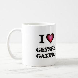 I Love Geyser Gazing Coffee Mug