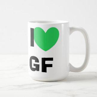 I Love GF Mug