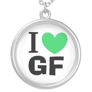 I Love GF Pendant