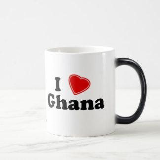 I Love Ghana Magic Mug