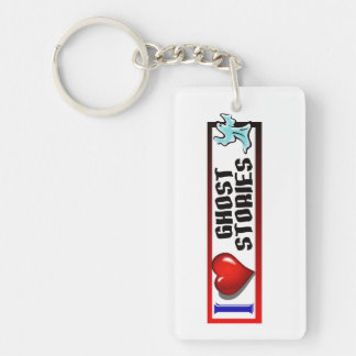 I Love Ghost Stories Keychain