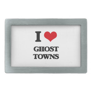 I love Ghost Towns Belt Buckle