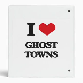 I love Ghost Towns Binder