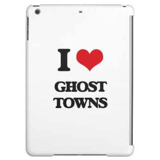I love Ghost Towns iPad Air Covers