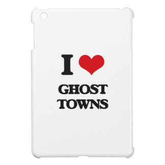 I love Ghost Towns iPad Mini Covers