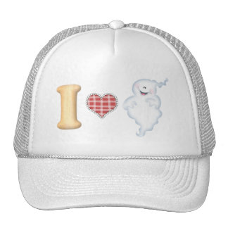 I Love Ghosts Hat