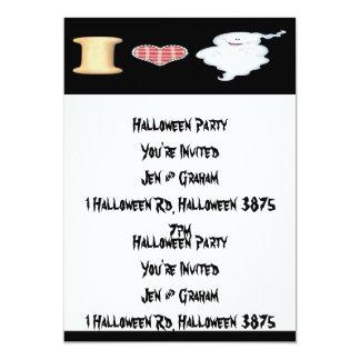 I Love Ghosts Invitation