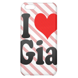 I love Gia iPhone 5C Cover
